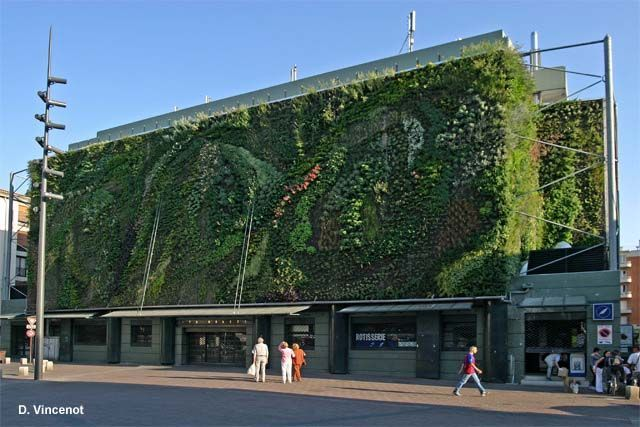 Mur vegetal for Top garage aix